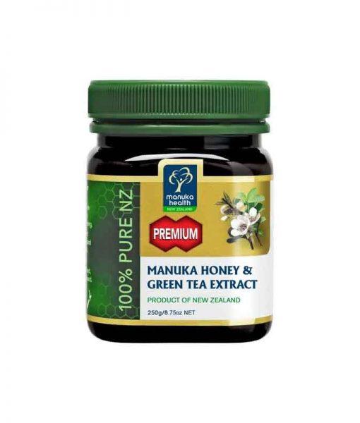 Manuka Honing met Groene Thee 250 gram